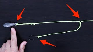 How To Tie The Dropper Rig (Fast & Easy Way)