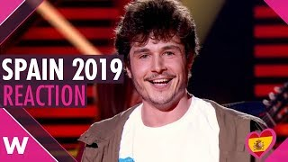"Miki Wins Spain's OT18 Eurovision Gala With ""La Venda"" (REACTION)"