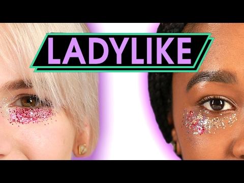 Women Try Glitter Concealer • Ladylike