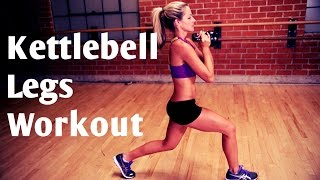 15 Minute Kettlebell Legs Workout by BodyFit By Amy