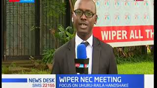 WIPER NEC MEETING: Leaders to discuss Wetangula ouster