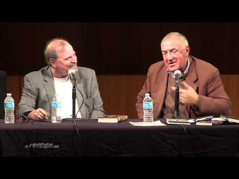 Валерий Попов в Бруклинской библиотеке. Valeriy Popov, 11.10.2012