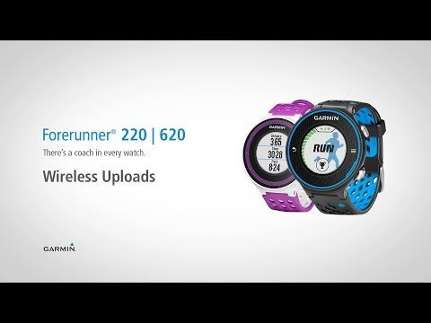 Forerunner 220 & 620: Wireless Uploads to Garmin Connect