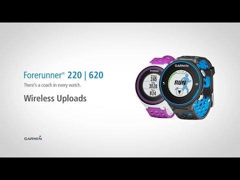 Forerunner 220 & 620: Wireless Uploads to Garmin Connect