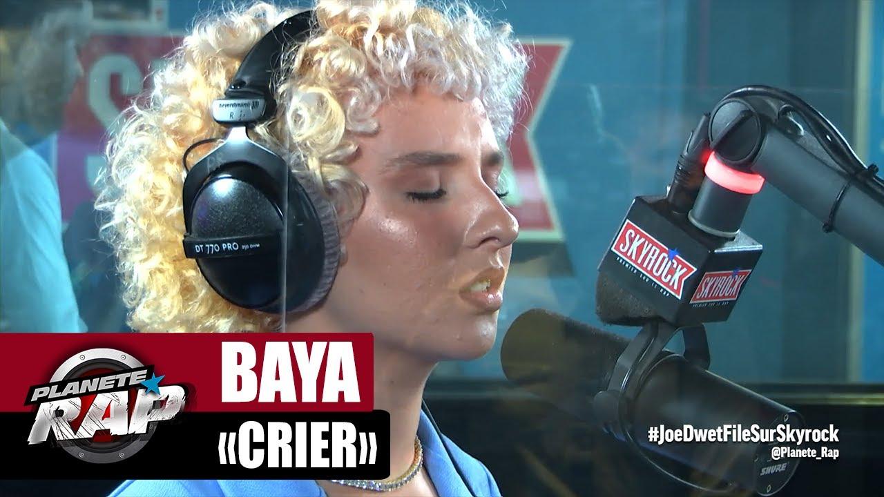 """Baya """"Crier"""" #PlanèteRap"""