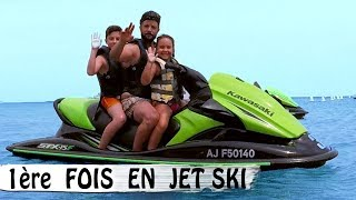 PREMIÈRE FOIS EN JET SKI / Family Vlog en Corse / Vlog Vacances