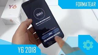 Cómo formatear Huawei Y6 2018/cómo resetear Huawei Y6 2018/Hard