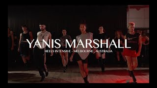 """YANIS MARSHALL HEELS INTENSIVE. MELBOURNE AUSTRALIA 2020 """"DON'T FUCKING TELL ME WHAT TO DO"""" ROBYN"""