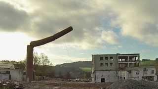 preview picture of video 'Abbruch Schlot Krummennaab'