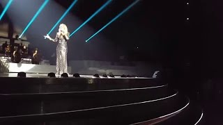 Celine Dion - Hello (Adele Cover) LIVE - New Year's Surprise- Dec 31th 2015