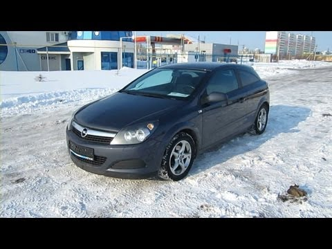 2008 Opel Astra GTC. Start Up, Engine, and In Depth Tour.