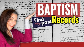 FindMyPast Catholic Baptisms Records: Genealogy Research Tips