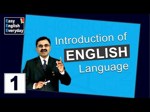 Spoken English Videos  Introduction classes to English language   Spoken English classes Online