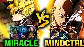 Miracle- Invoker VS Mindcontrol Kunkka - EPIC WTF MATCHUP Dota 2