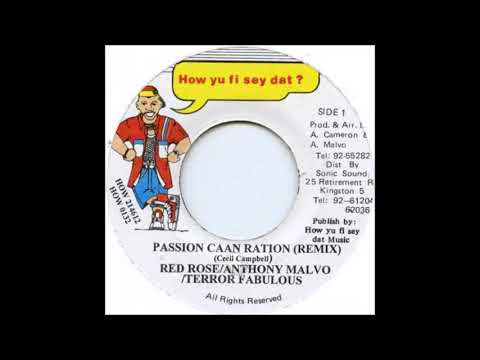 Anthony Red Rose Anthony Malvo Terror Fabulous – Passion Caan Ration (1996)