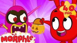 Morphle's Monster Halloween | My Magic Pet Morphle | Cartoons For Kids | Morphle TV Mila and Morphle