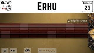How to play the erhu in GarageBand iOS (iPhone/iPad)