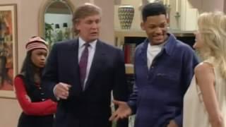Donal Trump en el Príncipe de Bel Air