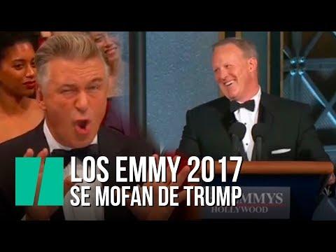 Los Emmy 2017 se mofan de Trump