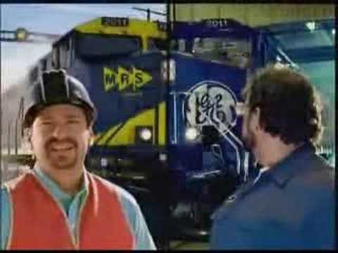 GE Commercial for GE Locomotive (2009) (Television Commercial)