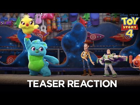 Toy Story 4 | Teaser Trailer Reaction