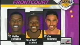 LA Clippers at LA Lakers - December 14, 2001