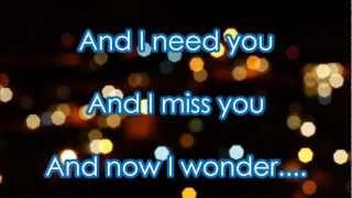 'A Thousand Miles' by Vanessa Carlton - Lyrics on Screen