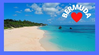 BERMUDA: World's most spectacular BEACH at HORSESHOE BAY