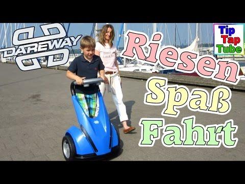 Mit Feber Dareway in Kiel wie Segway für Kinder  IO Hawk Hooverboard   TipTapTube Kinderkanal