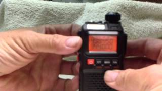 Activate Channel Scanning On The Baofeng UV-3R Plus