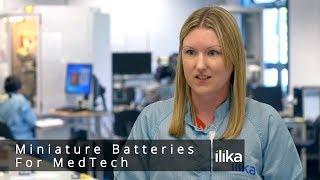 Miniature Batteries for MedTech