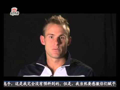 popular Roddick tops online Chinese poll