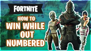 HOW TO WIN | Outnumbered vs Multiple Enemies (Fortnite Battle Royale)