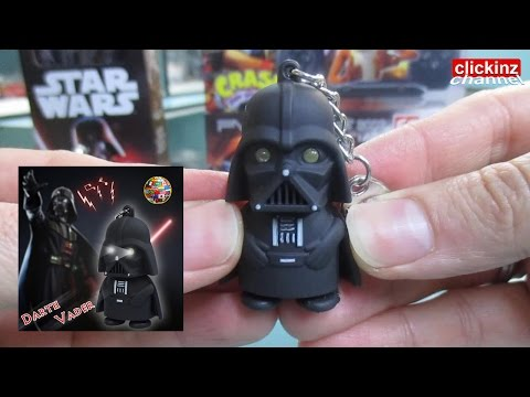 DARTH VADER KEYCHAIN LIGHT+SOUND Lantern STAR WARS Model Electronic Gadget Toy for Kids Llavero Led