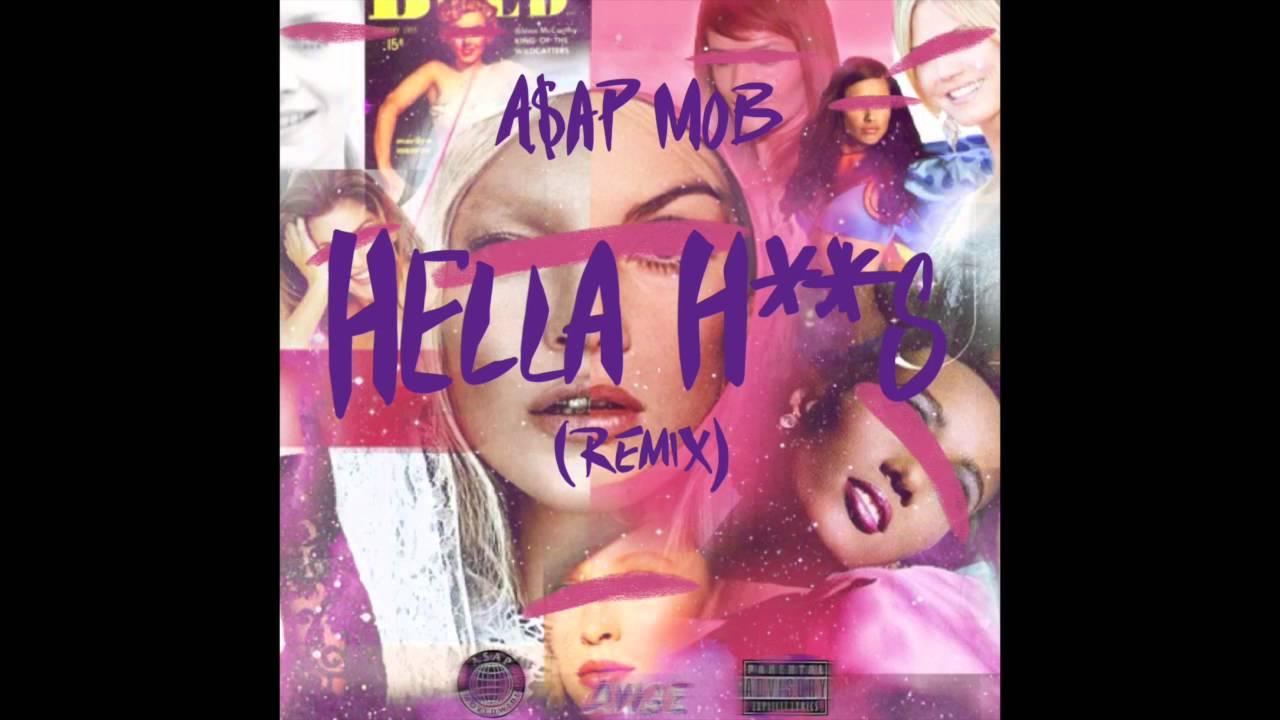 """丹尼·布朗(Danny Brown)出演A $ AP Mob混音 's """"Hella Hoes"""""""