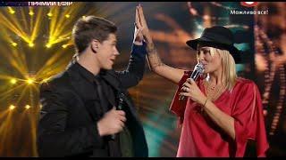 «Х-фактор-5» /Дмитрий Бабак feat Sarah Connor - Just one last dance /Седьмой прямой эфир(20.12.2014)
