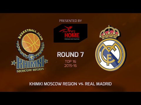 Highlights: Top 16, Round 7, Khimki Moscow Region 82-93 Real Madrid