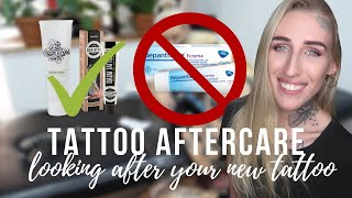 TATTOO AFTERCARE | how to look after your new tattoo