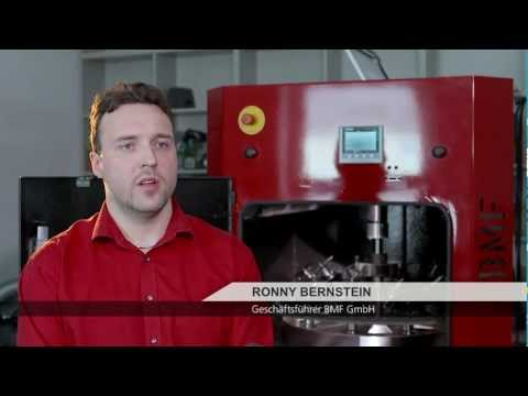 intec-Preis 2013 Unternehmen unter 100 Mitarbeiter: BMF GmbH   intec-Preis   Leipzig