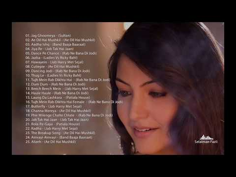 Anushka Sharma 25 Hit Songs 2008 - 2018