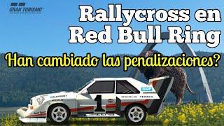 Gran Turismo Sport - RallyCross en Nations Cup ¿Han cambiado las penalizaciones? Actualización 1.28