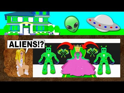 I Bought An ALIEN MANSION With A SECRET ROOM In Adopt Me! (Roblox)