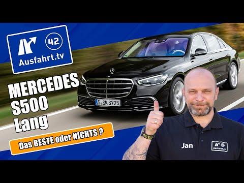 2021 Mercedes-Benz S 500 4Matic lang (V223) - Kaufberatung, Test deutsch, Review, Fahrbericht