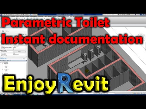 Revit Tips – Document Ready Smart Parametric Toilet Families