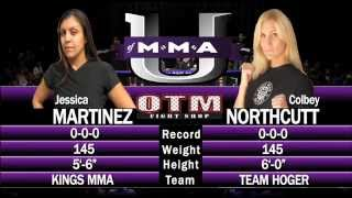 Jessica Martinez x Colbey Northcutt (Second to None 10/21/12, Los Angeles, CA)