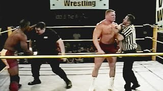 Brock Lesnar clashes with Mark Henry in 2000 in rare Hidden Gem (WWE Network Exclusive)
