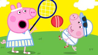 Peppa Pig Official Channel 🎾 Peppa Pig Plays Tennis 🎾Peppa Pig's Wimbledon Special!