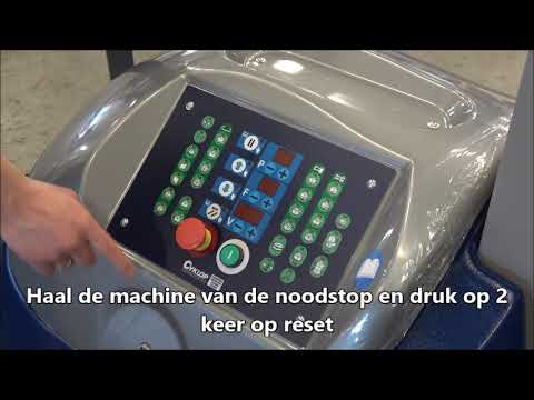 CSM 211 / 212 / 213: Machine aanzetten