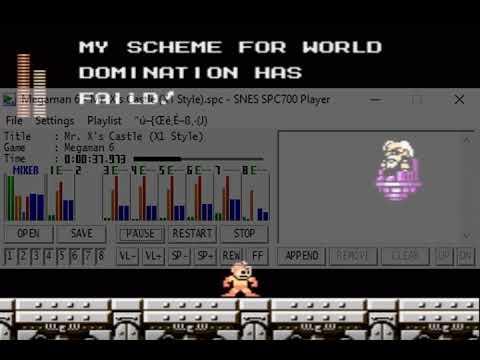Megaman 6 Mr X stage - смотреть онлайн на Hah Life