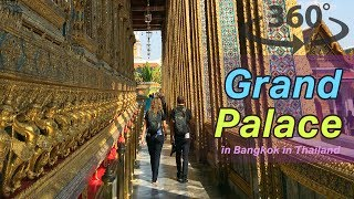 The Grand Palace in Bangkok in Thailand VR | 360 Video
